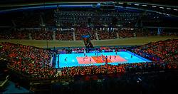 30-05-2019 NED: Volleyball Nations League Netherlands - Poland, Apeldoorn<br /> Centercourt Omnisporthal De Voorwaarts
