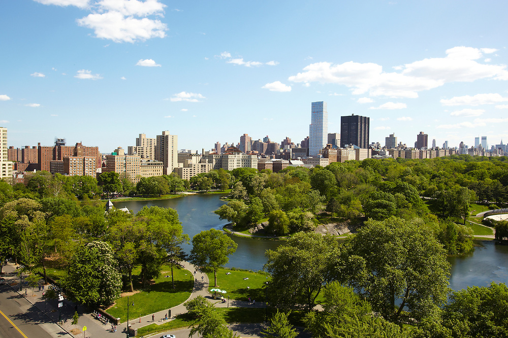 View of Central Park and Harlem Meer from 111 Central Park North, 14th floor