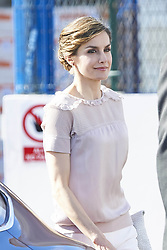 April 24, 2017 - Las Palmas De Gran Canaria, Spain - 24-04-2017 Palmas Queen Letizia visiting the headquarters of World Food Program of Las Palmas de Gran Canaria and the Center for Cooperation with Africa of the Spanish Red Cross at Puerto de la Luz in Las Palmas de Gran Canaria, Spain..No Spain.© PPE/Thorton.Credit: PPE/face to face.- No Rights for Netherlands  (Credit Image: © face to face via ZUMA Press)
