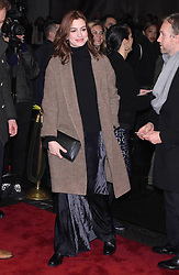 """Anne Hathaway at the Broadway opening of """"To Kill A Mockingbird"""" in New York City."""