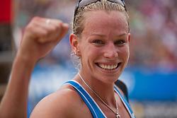 05-08-2011 VOLLEYBAL: FIVB WORLD TOUR GRANDSLAM: KLAGENFURT<br /> Sanne Keizer NED<br /> ©2011-FotoHoogendoorn.nl / Gert Steinthaler
