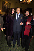Victoria de Silva; Desmond de Silva;; Her Royal Highness Katarina The Princess of Yugoslavia and Serbia, Launch hosted by Quartet books  of Madam, Where Are Your Mangoes? by Sir Desmond de Silva at The Carlton Club. London. 27 September 2017.