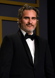 Joaquin Phoenix in the press room at the 92nd Academy Awards held at the Dolby Theatre in Hollywood, Los Angeles, USA.