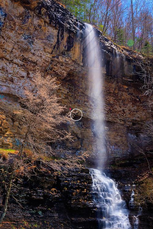 Waterfall Tennessee Highway 111