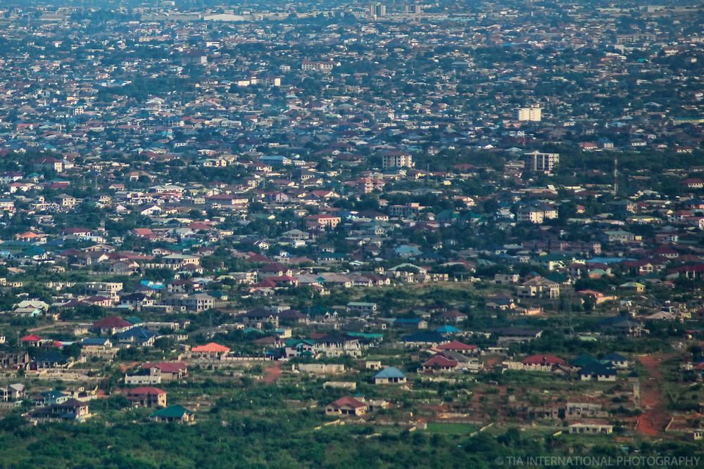 Accra Expanse as seen from Aburi
