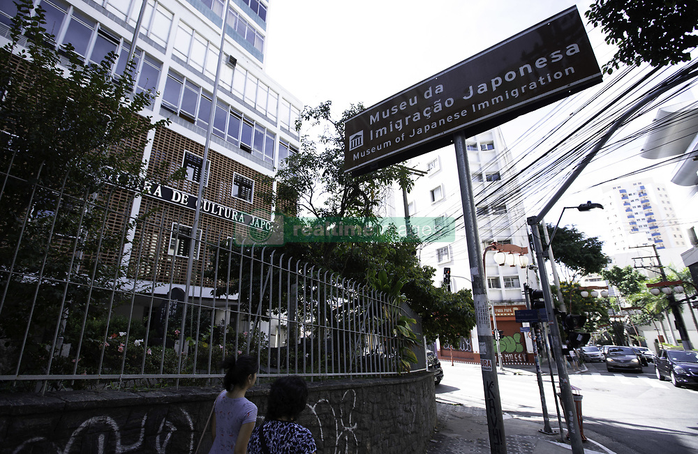 May 1, 2019 - SãO Paulo, Brazil - SÃO PAULO, SP - 01.05.2019: MUSEU DA IMIGRAÇÃO JAPONESA REABRE - Moving in front of the Japanese Immigration Museum building in the Liberdade neighborhood, central region of São Paulo, on the afternoon of Wednesday (01). Reopening is scheduled for soon more. (Credit Image: © Bruno Rocha/Fotoarena via ZUMA Press)