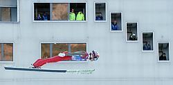 31.12.2016, Olympiaschanze, Garmisch Partenkirchen, GER, FIS Weltcup Ski Sprung, Vierschanzentournee, Garmisch Partenkirchen, Qualifikation, im Bild Taku Takeuchi (JPN) // Taku Takeuchi of Japan during his Qualification Jump for the Four Hills Tournament of FIS Ski Jumping World Cup at the Olympiaschanze in Garmisch Partenkirchen, Germany on 2016/12/31. EXPA Pictures © 2016, PhotoCredit: EXPA/ Jakob Gruber