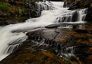 Buttermilk Falls in Falls Pennsylvania by Darren Elias Photography