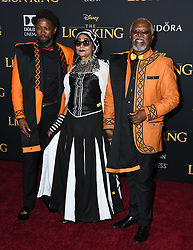 July 9, 2019 - Hollywood, California, U.S. - 09 July 2019 - Hollywood, California - John Kani. Disney's ''The Lion King'' Los Angeles Premiere held at Dolby Theatre. Photo Credit: Birdie Thompson/AdMedia (Credit Image: © Birdie Thompson/AdMedia via ZUMA Wire)