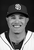 San Diego Padres Manny Machado poses for a portrait.<br /> (Photo/Tom DiPace)