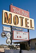 Bel Air Motel, Mojave, California
