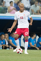 July 1, 2018 - Nizhny Novgorod, Russia - Mathias Jorgensen of Denmark during the 2018 FIFA World Cup Russia Round of 16 match between Croatia and Denmark at Nizhny Novgorod Stadium on July 1, 2018 in Nizhny Novgorod, Russia. (Credit Image: © Foto Olimpik/NurPhoto via ZUMA Press)