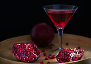 Rodney Bedsole food and architecture photographer pomegranate cocktail