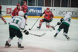 CHVATAL Aljaz during Alps League Ice Hockey match between HK SZ Olimpija and HDD SIJ Jesenice, on February 12, 2019 in Ice Arena Podmezakla, Jesenice, Slovenia. Photo by Peter Podobnik / Sportida