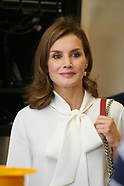092717 Queen Letizia attends the Opening of the training course 2017-2018
