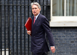 © Licensed to London News Pictures. 18/09/2012. Westinster, UK Defence Secretary Philip Hammond arrives for the cabinet meeting today in Downing Street 18 September 2012. Photo credit : Stephen Simpson/LNP