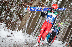 05.01.2015, Paul Ausserleitner Schanze, Bischofshofen, AUT, FIS Ski Sprung Weltcup, 63. Vierschanzentournee, Training, im Bild Richard Freitag (GER) // during Training of 63rd Four Hills <br /> Tournament of FIS Ski Jumping World Cup at the Paul Ausserleitner Schanze, Bischofshofen, Austria on 2015/01/05. EXPA Pictures © 2015, PhotoCredit: EXPA/ JFK