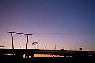 Solen går upp över St. Paul, Minnesota.<br /> <br /> Foto: Christina Sjögren