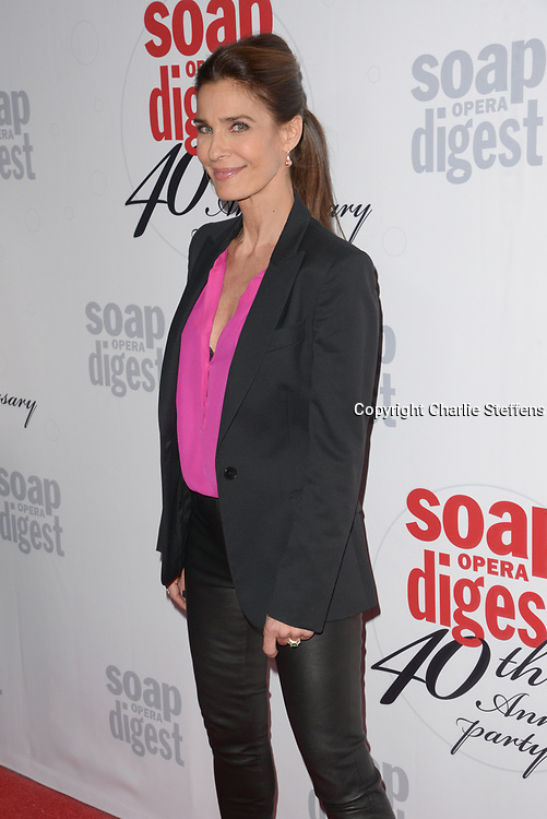 KRISTIAN ALFONSO at Soap Opera Digest's 40th Anniversary party at The Argyle Hollywood in Los Angeles, California