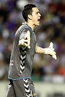 Real Valladolid's Jaime Jimenez during La Liga match.May 7,2014. (ALTERPHOTOS/Acero)