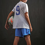Portrait of a local soccer player. ©Travis Bell Photography