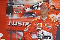 Formel 1, AUTO - F1 2004 - AUSTRALIA GP - MELBOURNE 20040307 - PHOTO : ERIC VARGIOLU / Digitalsport<br /> N¡ 1 - MICHAEL SCHUMACHER (GER) / FERRARI - AMBIANCE - PORTRAIT