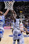 DESCRIZIONE : Campionato 2014/15 Dinamo Banco di Sardegna Sassari - Dolomiti Energia Aquila Trento Playoff Quarti di Finale Gara4<br /> GIOCATORE : Jeff Brooks Shane Lawal<br /> CATEGORIA : Rimbalzo<br /> SQUADRA : Dinamo Banco di Sardegna Sassari<br /> EVENTO : LegaBasket Serie A Beko 2014/2015 Playoff Quarti di Finale Gara4<br /> GARA : Dinamo Banco di Sardegna Sassari - Dolomiti Energia Aquila Trento Gara4<br /> DATA : 24/05/2015<br /> SPORT : Pallacanestro <br /> AUTORE : Agenzia Ciamillo-Castoria/L.Canu