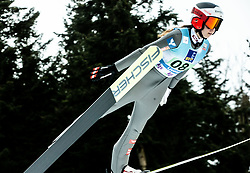 Lisa Eder of Austria competes during Team Competition at Day 2 of World Cup Ski Jumping Ladies Ljubno 2019, on February 9, 2019 in Ljubno ob Savinji, Slovenia. Photo by Matic Ritonja / Sportida