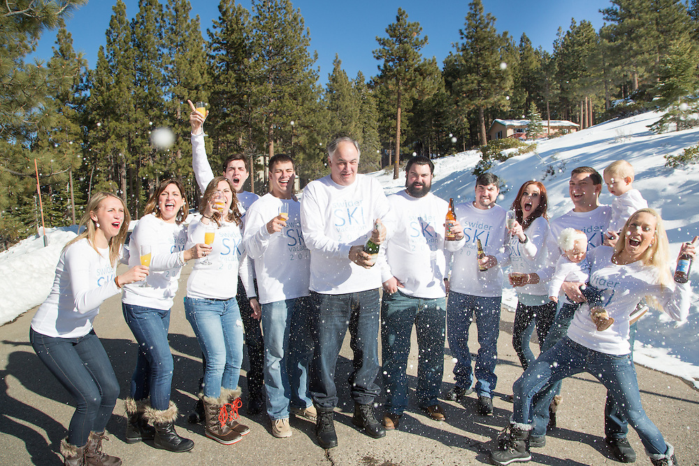 South Lake Tahoe Family Reunion Session on New Years