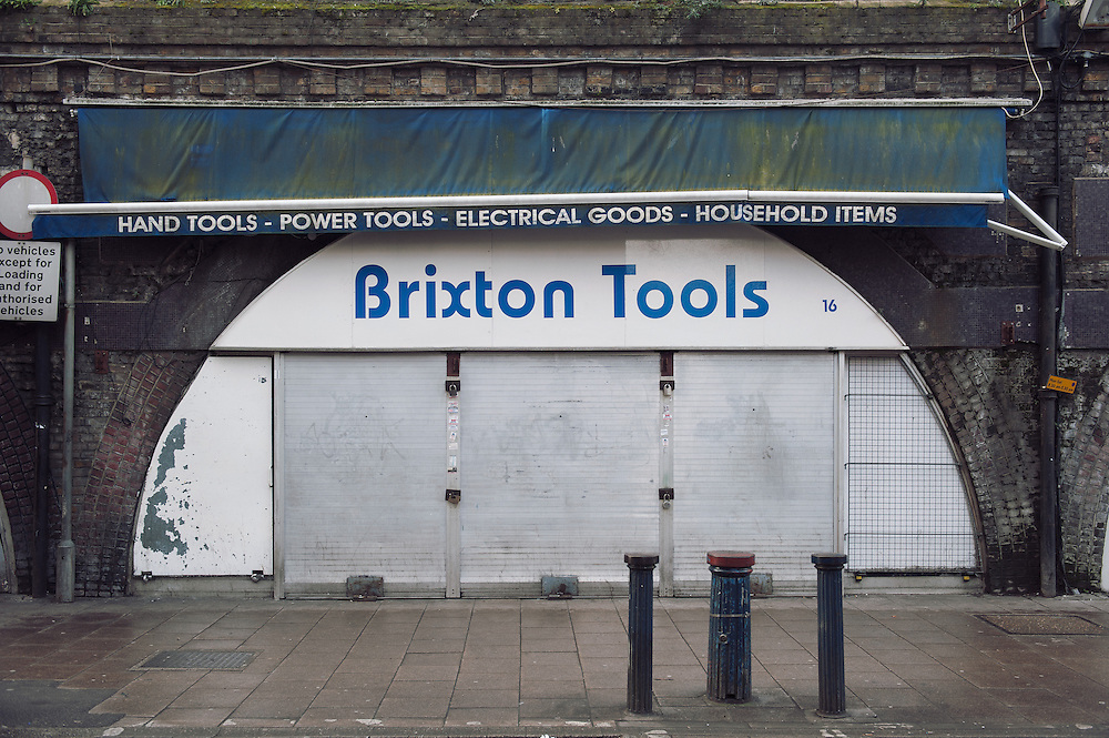 Brixton tools.<br /> 16 Brixton Station Road.<br /> <br /> The shop opened 20 years ago. If it closes 2 people will be affected.