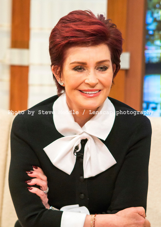 Sharon Osbourne / Good Morning Britain / Image Can be licensed for use at www.rexfeatures.com