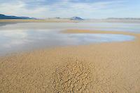 Dry lakebed, Alvord Desert Oregon