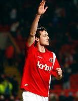 Fotball<br /> England<br /> 19.01.2010<br /> Foto: Colorsport/Digitalsport<br /> NORWAY ONLY<br /> <br /> Coca-Cola Div 1<br /> Charlton Athletic Vs Hartlepool United at The Valley<br /> Dave Mooney of Charlton Athletic (on loan from Reading) celebrates his goal