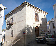 Historic old buildings Alhama de Granada, Andalusia, Spain