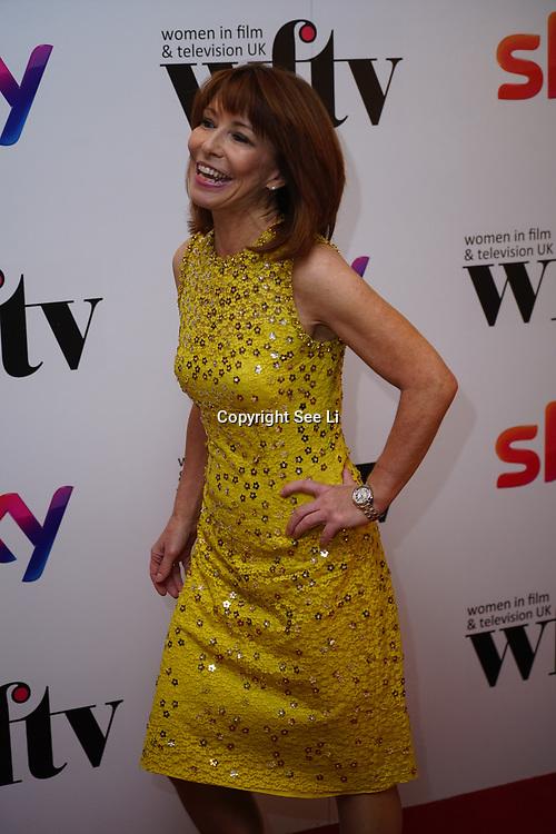 London Hilton, Park lane, England, UK. 1st December 2017. Kay Burley attends the Sky Women in Film and TV Awards.