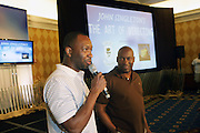 l to r: Jeff Friday and John Singleton at The Master Class with John Singleton during the The 2009 American Black Film Festival held at The Ritz-Carlton in Miami Beach on June 27, 2009 ..