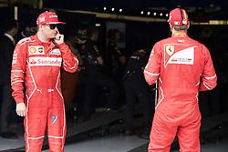 July 15, 2017 - Silverstone, Great Britain - Motorsports: FIA Formula One World Championship 2017, Grand Prix of Great Britain, ..#7 Kimi Raikkonen (FIN, Scuderia Ferrari), #5 Sebastian Vettel (GER, Scuderia Ferrari) (Credit Image: © Hoch Zwei via ZUMA Wire)