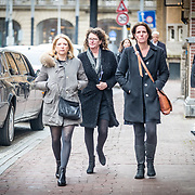 NLD/Amsterdam//20170309 - Herdenkingsdienst Guus Verstraete, Kim Barend (l)