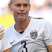 Christie Rampone, U.S. Women's National Team, during the U.S. Women's National Team Vs Korean Republic, International Soccer Friendly in preparation for the FIFA Women's World Cup Canada 2015. Red Bull Arena, Harrison, New Jersey. USA. 30th May 2015. Photo Tim Clayton