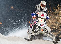 07.12.2014, Saalbach Hinterglemm, AUT, Snow Mobile, im Bild Team Hitradio Ö3 // during the Snow Mobile Event at Saalbach Hinterglemm, Austria on 2014/12/07. EXPA Pictures © 2014, PhotoCredit: EXPA/ JFK