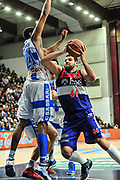 DESCRIZIONE : Campionato 2014/15 Dinamo Banco di Sardegna Sassari - Enel Brindisi<br /> GIOCATORE : Dejan Ivanov<br /> CATEGORIA : Penetrazione<br /> SQUADRA : Enel Brindisi<br /> EVENTO : LegaBasket Serie A Beko 2014/2015<br /> GARA : Dinamo Banco di Sardegna Sassari - Enel Brindisi<br /> DATA : 27/10/2014<br /> SPORT : Pallacanestro <br /> AUTORE : Agenzia Ciamillo-Castoria / M.Turrini<br /> Galleria : LegaBasket Serie A Beko 2014/2015<br /> Fotonotizia : Campionato 2014/15 Dinamo Banco di Sardegna Sassari - Enel Brindisi<br /> Predefinita :