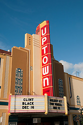 California: Napa City, Uptown Theater.  Photo copyright Lee Foster.  Photo # canapa107245