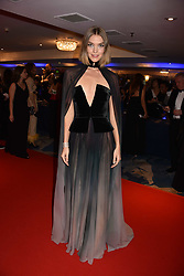 Arizona Muse at the Chain of Hope Gala Ball held at the Grosvenor House Hotel, Park Lane, London England. 17 November 2017.<br /> Photo by Dominic O'Neill/SilverHub 0203 174 1069 sales@silverhubmedia.com