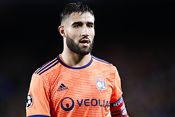 March 13, 2019 - Barcelona, Catalonia, Spain - March 13, 2019 - Barcelona, Spain - Uefa Champions League 1/8 of final second leg, FC Barcelona v Olympique de Lyon: Nabil Fekir follows the action. (Credit Image: © Marc Dominguez/ZUMA Wire)