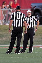 02 September 2017:  Paul Janus & Matt Packowski  during the Butler Bulldogs at  Illinois State Redbirds Football game at Hancock Stadium in Normal IL (Photo by Alan Look)