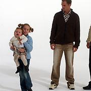 Opname commercial C&A / cliniclowns, kinderen Ronald en Frank de Boer