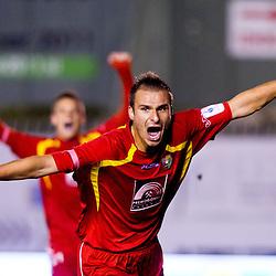 20111015: SLO, Football - PrvaLiga, NK Rudar vs NK Olimpija