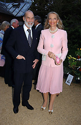 TRH PRINCE & PRINCESS MICHAEL OF KENT at the annual Cartier Flower Show Diner held at The Physics Garden, Chelsea, London on 23rd May 2005.<br /><br />NON EXCLUSIVE - WORLD RIGHTS