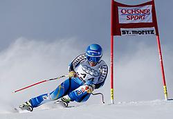 14.12.2013, Engiadina, St. Moritz, SUI, FIS Weltcup Ski Alpin, St. Moritz, Riesentorlauf, Damen, 1. Durchgang, im Bild Kajsa Kling (SWE) // in action during the 1st run of ladies Giant Slalom of the St. Moritz FIS Ski Alpin World Cup at the Engiadina in St. Moritz, Switzerland on 2013/12/14. EXPA Pictures © 2013, PhotoCredit: EXPA/ Freshfocus/ Christian Pfander<br /> <br /> *****ATTENTION - for AUT, SLO, CRO, SRB, BIH, MAZ only*****