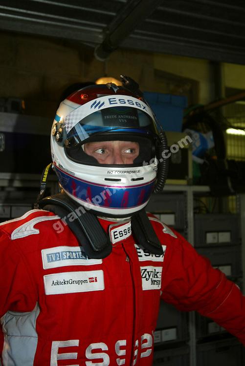 Team Essex Zytek driver Philip Andersen during the 2006 Le Mans. Photo: Grand Prix Photo
